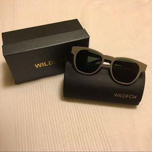 Wildfox Ultra Fox Sunglasses, matte silver